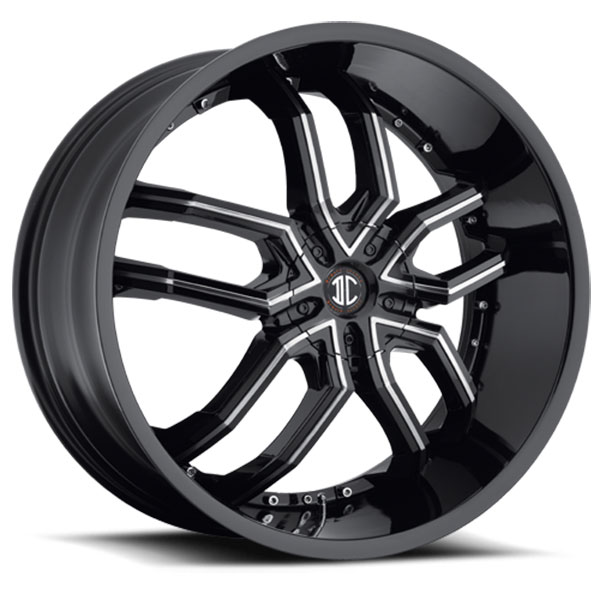 2 Crave No.20 Gloss Black with Machined Face and Gloss Black Inserts
