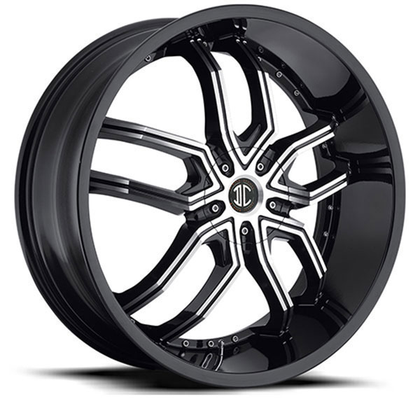 2 Crave No.20 Gloss Black with Machined Face and Gloss Black Lip