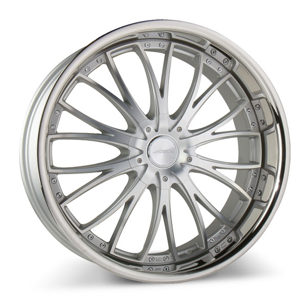 Ace Alloy Eminence D709 Eminence Matte Silver with Machined Face and SS Lip