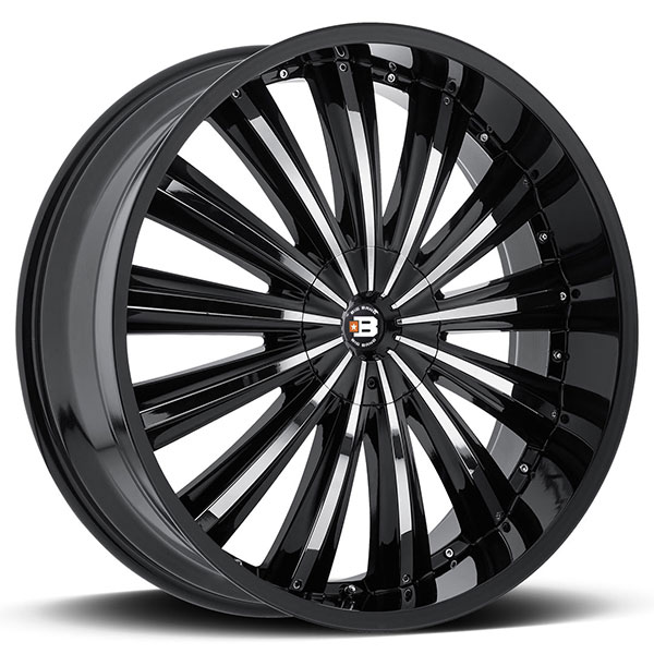 Big Bang BB2 Gloss Black with Chrome Inserts
