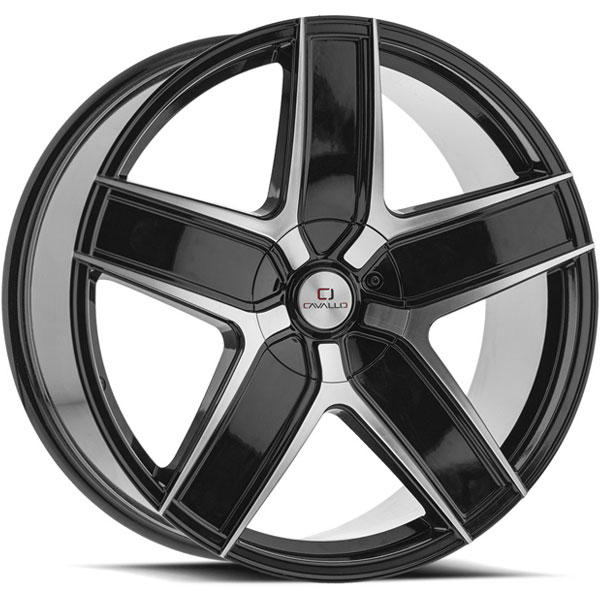 Cavallo CLV-31 Gloss Black Machined