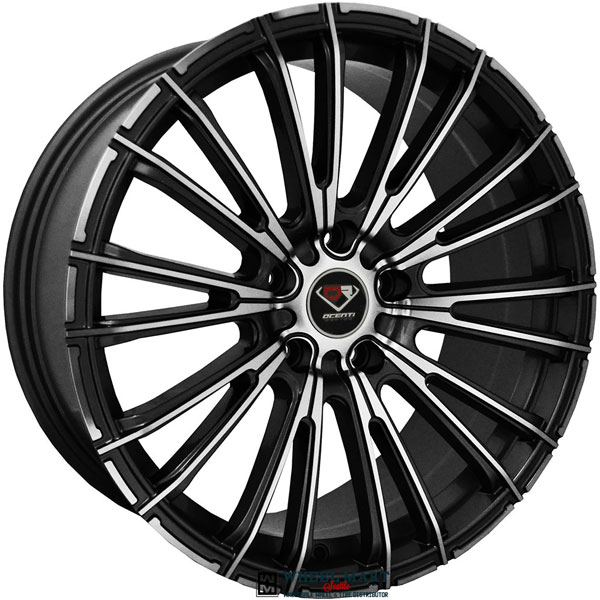 Dcenti Racing DCTL006 Black with Machined Face