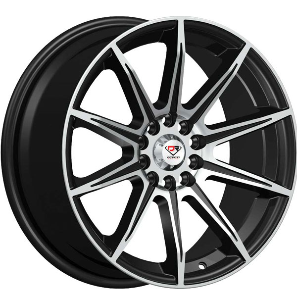 Dcenti Racing DCTL048 Black with Machined Face