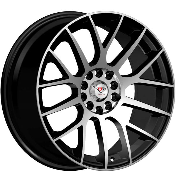 Dcenti Racing DCTL049 Black with Machined Face