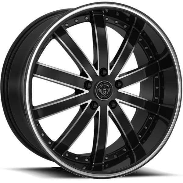 Gima Rogue Black with Machined Edges
