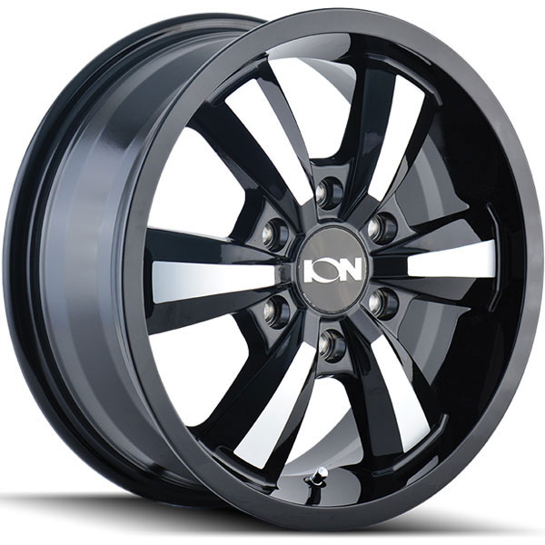 Ion Alloy 102 Black with Machined Face