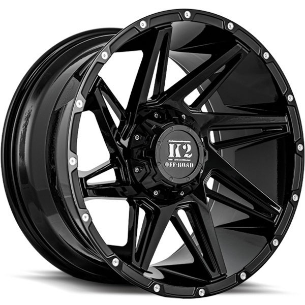 K2 OffRoad K09 Torque Gloss Black