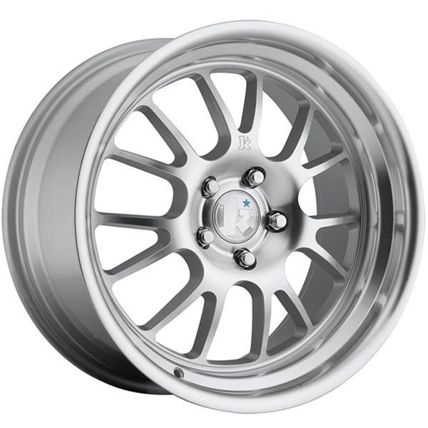 Klutch SL14 Silver with Machined Lip