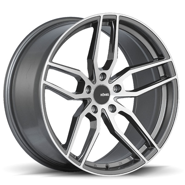 Konig Interform Graphite with Machined Face