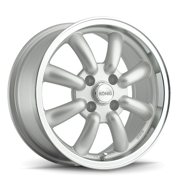 Konig Rewind Silver with Machined Lip