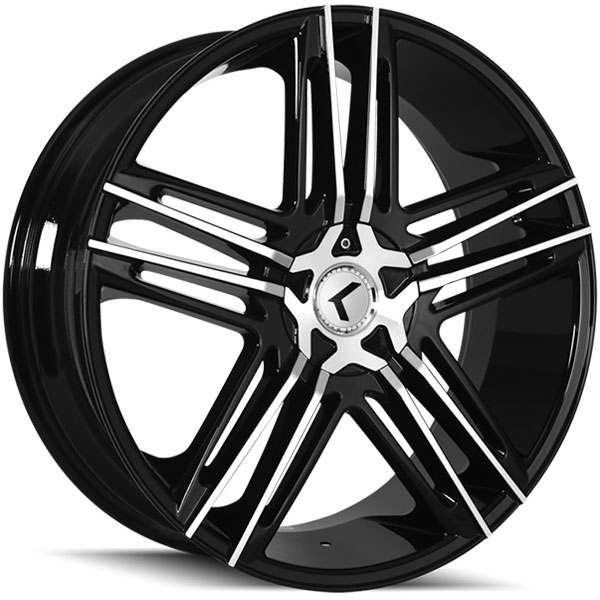 Kraze 157 Hella Black with Machined Face