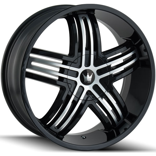 Mazzi Entice 368B Black with Machined Face