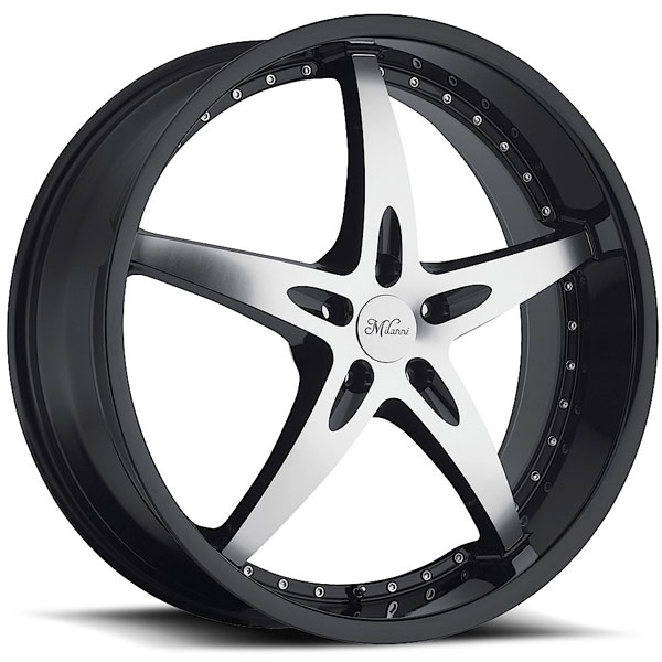 Milanni ZS-1 453 Black with Machined Face