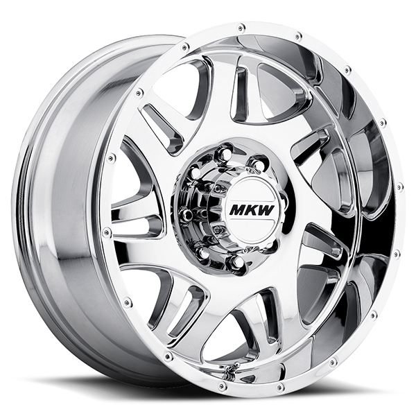 MKW M91 Chrome 8 Lug