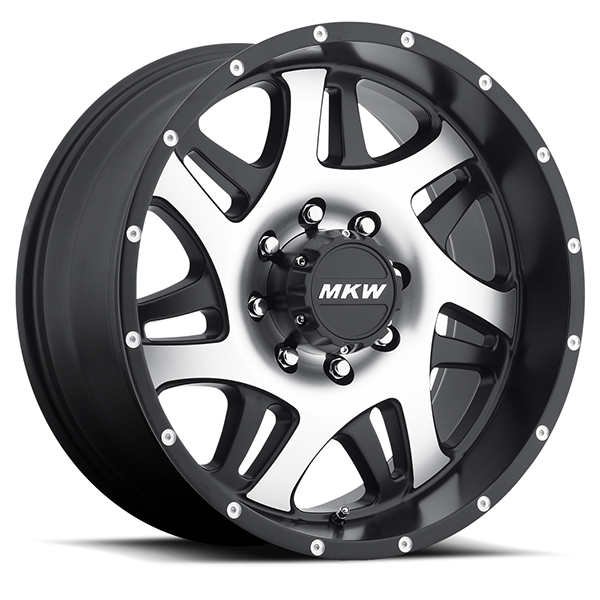 MKW M91 Gloss Black with Machined Face 8 Lug