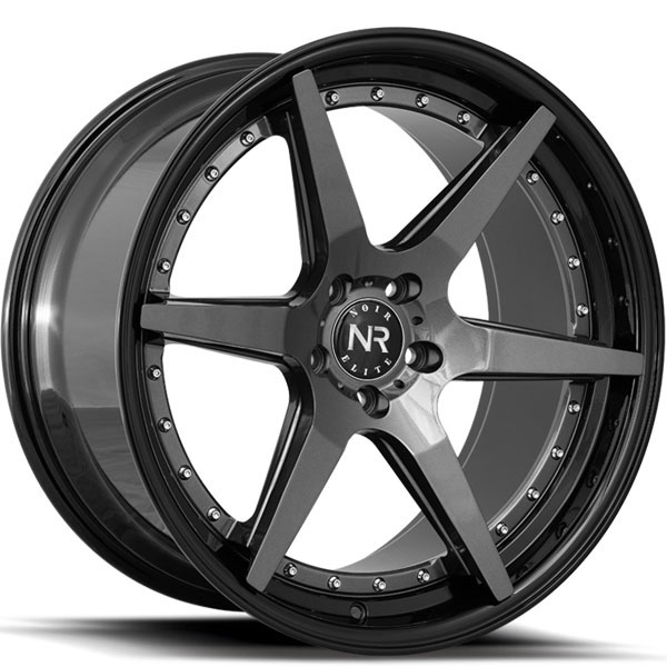 Noir Elite NR102 Gunmetal with Gloss Black Lip
