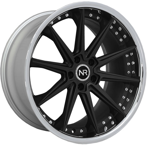 Noir Elite NR110 Matte Black with SS Lip