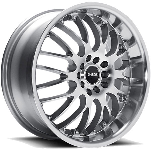 NS Series NS9003 Silver with Machined Face and Lip
