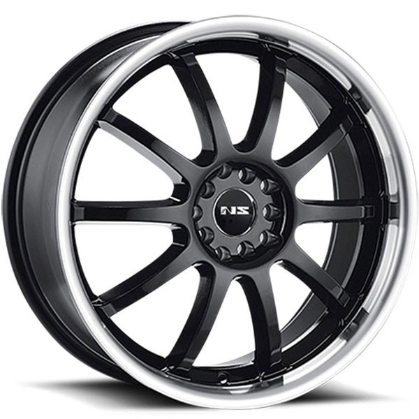 NS Series NS9016 Black with Machined Lip