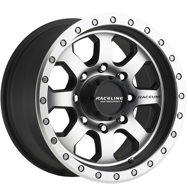 Raceline 929M-SL Avenger Black Machined