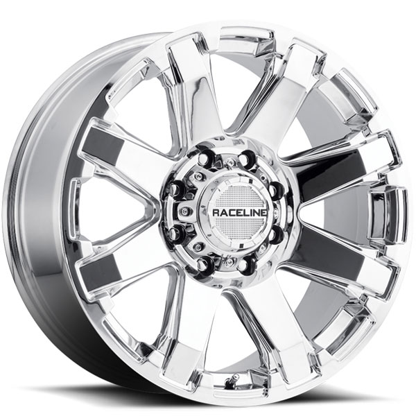 Raceline 936C Throttle Chrome 8 Lug