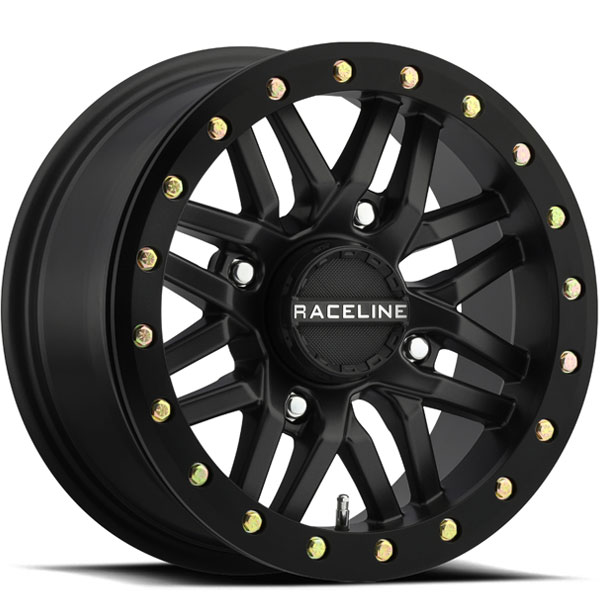 Raceline A91B Ryno UTV Beadlock Black