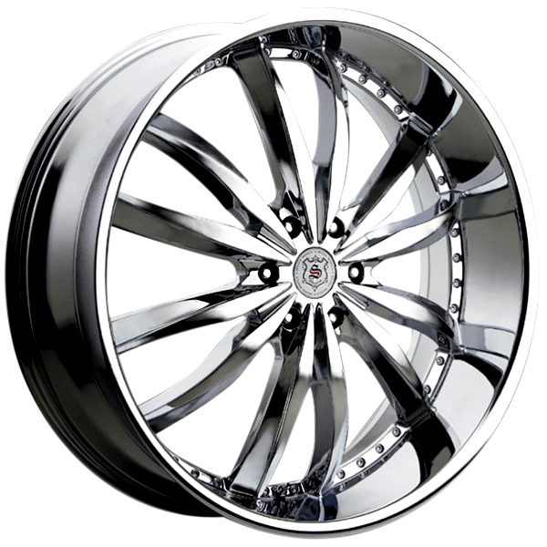 Sevizia SE-427 Chrome 6 Lug