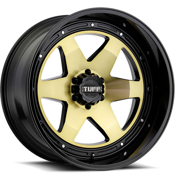 Tuff T1A Gold with Gloss Black Lip