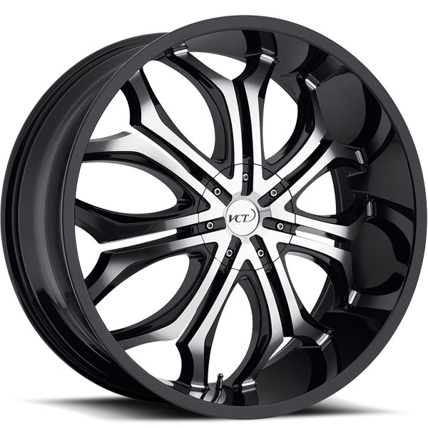 VCT Godfather Black with Machined Face