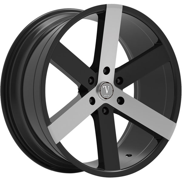 Velocity VW 22 Black with Machined Face