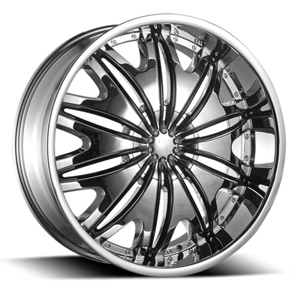 Velocity VW 820 Chrome with Black Inserts