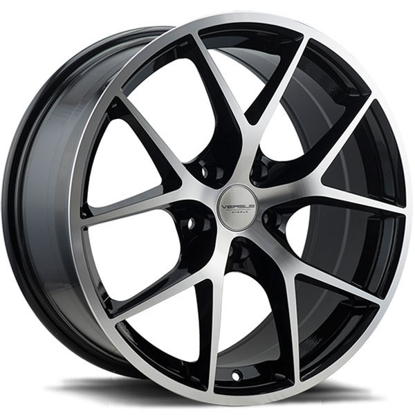 Versus VS263 Black with Machined Face