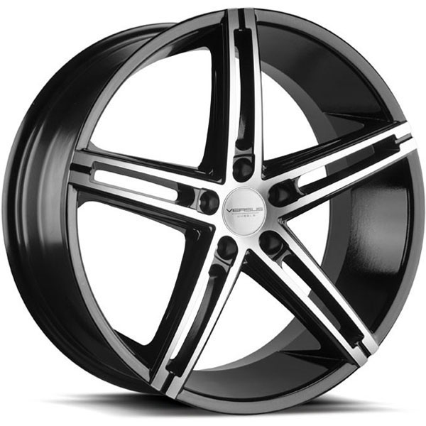 Versus VS453 Gloss Black with Machined Face