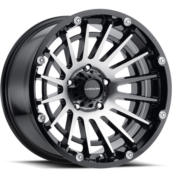 Vision 417 Creep Gloss Black with Machined Face